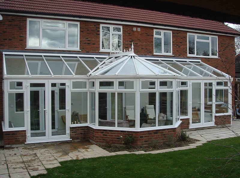 P Shaped Conservatories Coral Windows