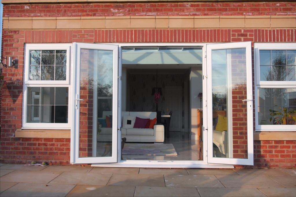 French doors from coral windows for Upvc french doors leeds