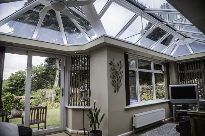 Coral P shaped conservatory coral windows and doors