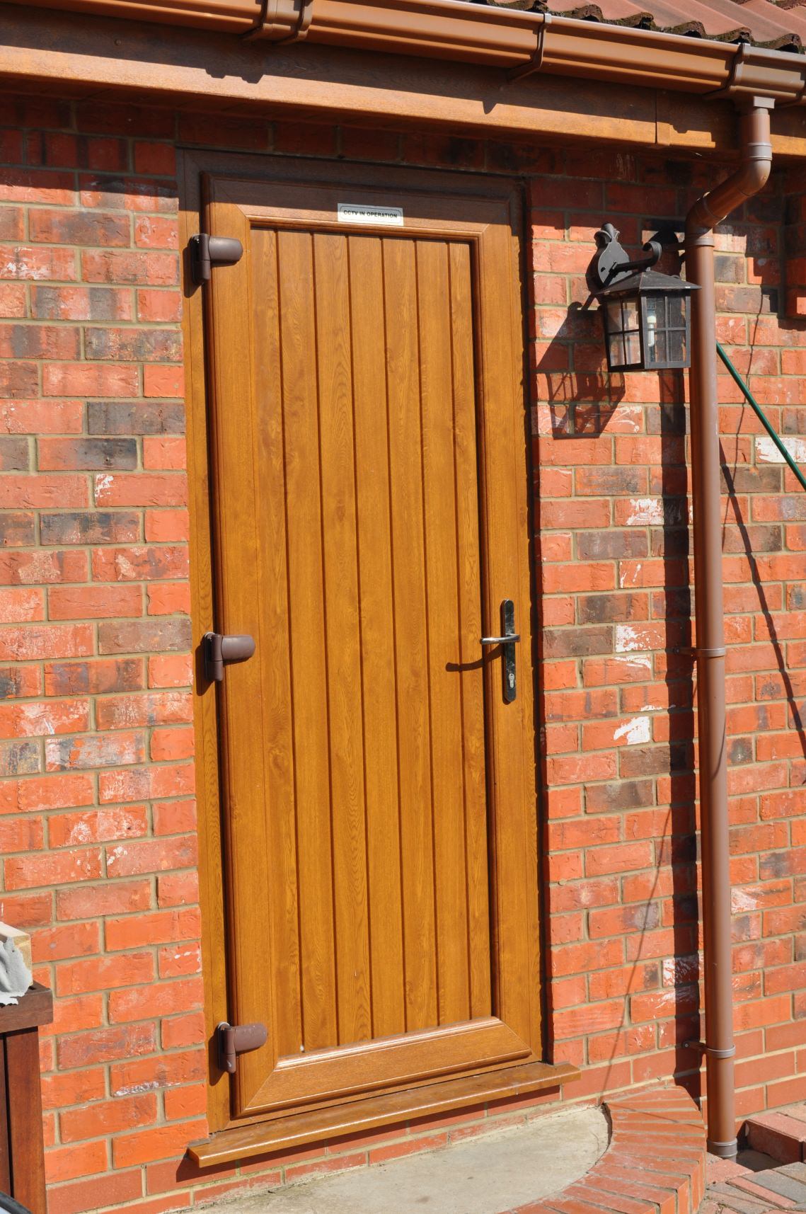 Upvc doors coral for Brown upvc patio doors