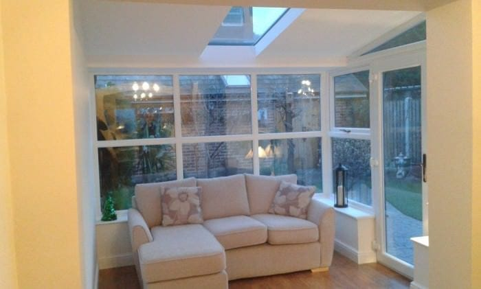 Solid Roof Extension Interior