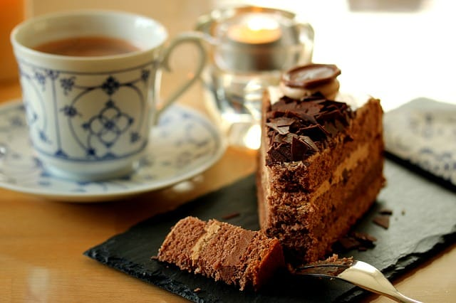 Warm Coffee & Cake