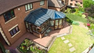 P-Shaped Conservatories installation Bradford
