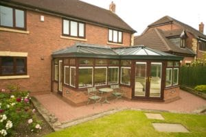 Bradford uPVC P Shaped Conservatories