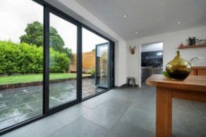black upvc bifold doors bradford