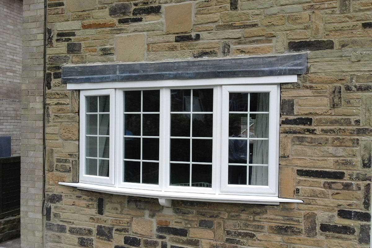 white georgian windows bradford