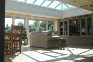 Glass Roof orangeries yorkshire