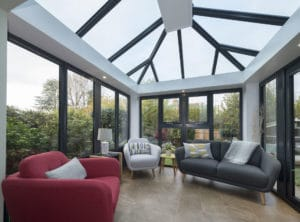 modern glass extensions yorkshire