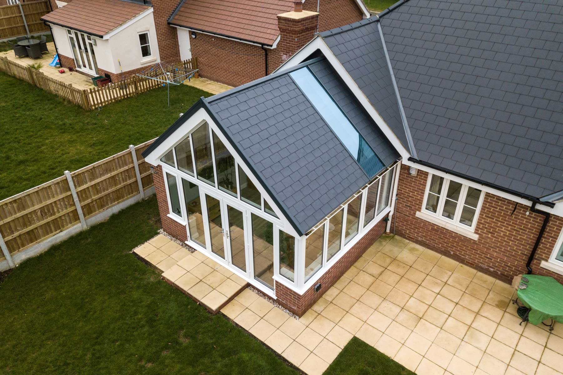 Modern Gable Conservatory Designs Yorkshire