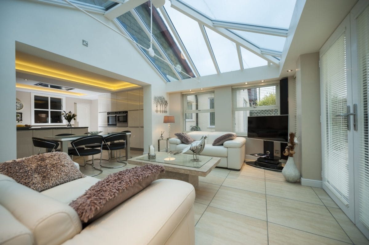 glass extension in yorkshire