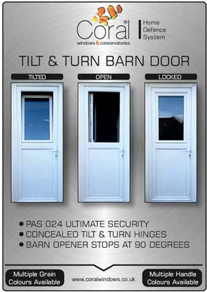 Tilt and Turn barn doors