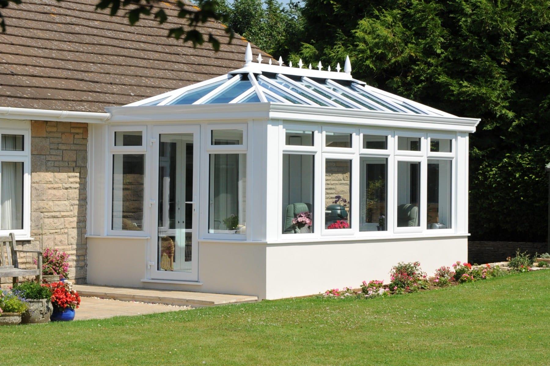Edwardian Conservatory Installation Yorkshire