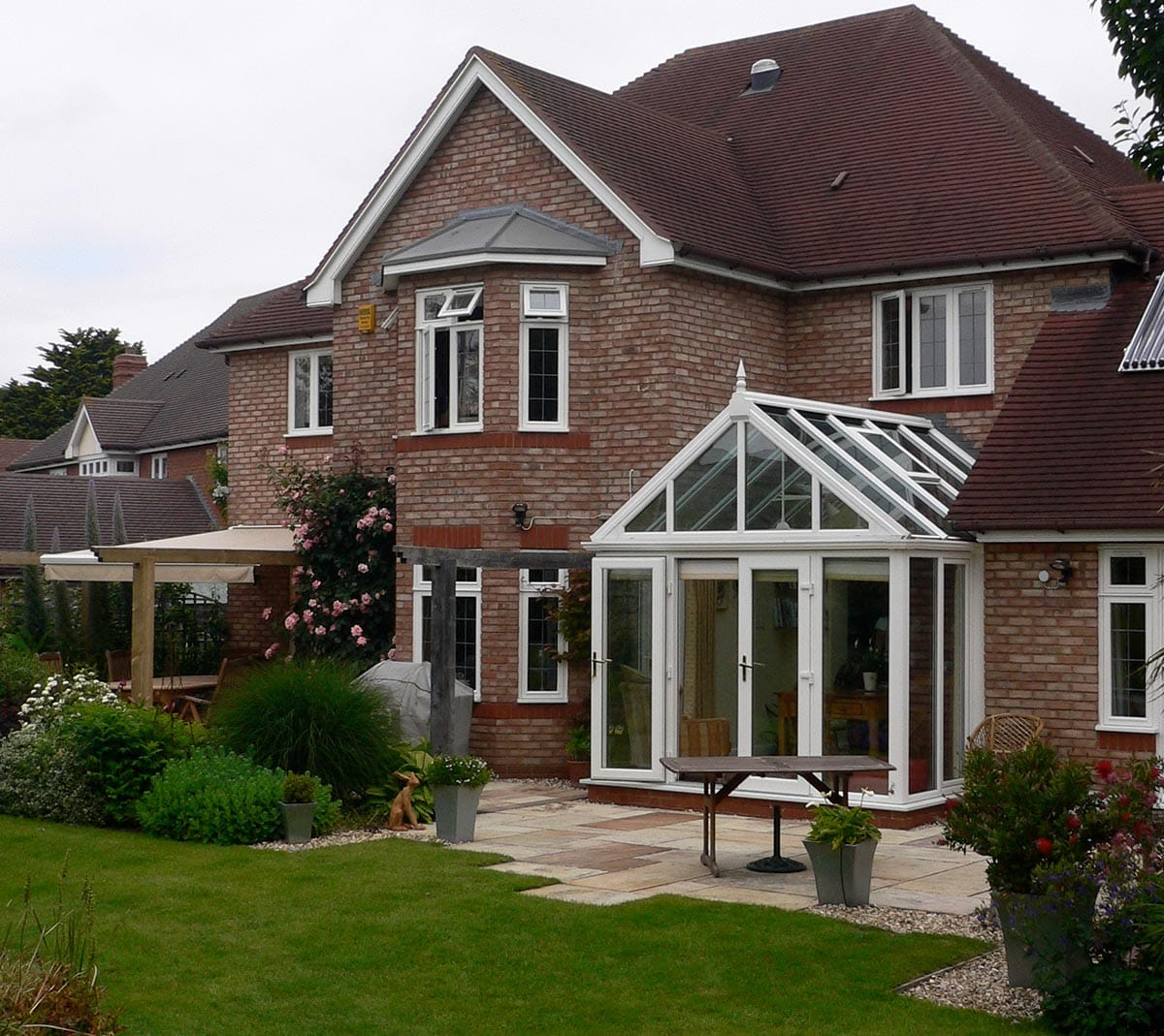 Gable Pitched Roof Conservatory
