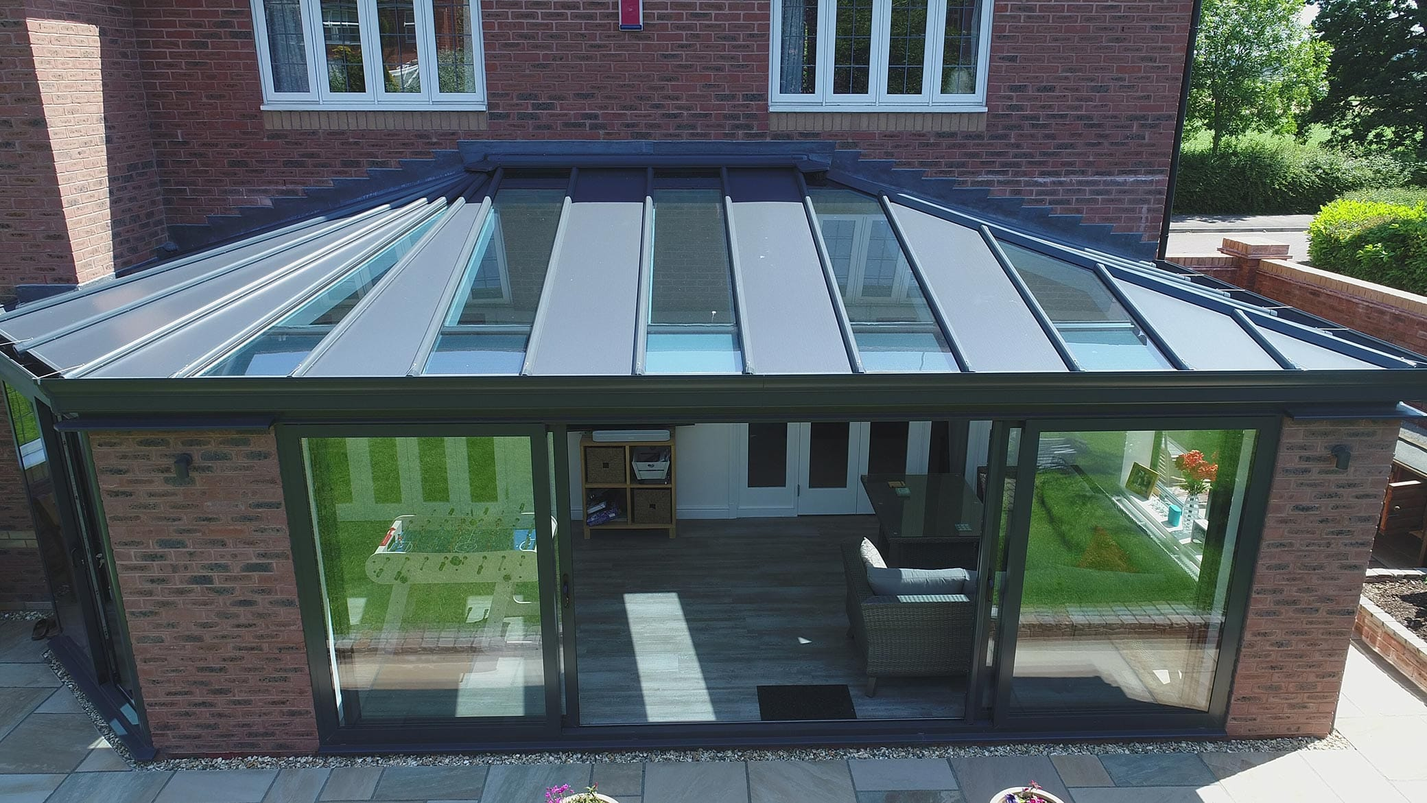 Modern Solid Conservatory Roof Yorkshire