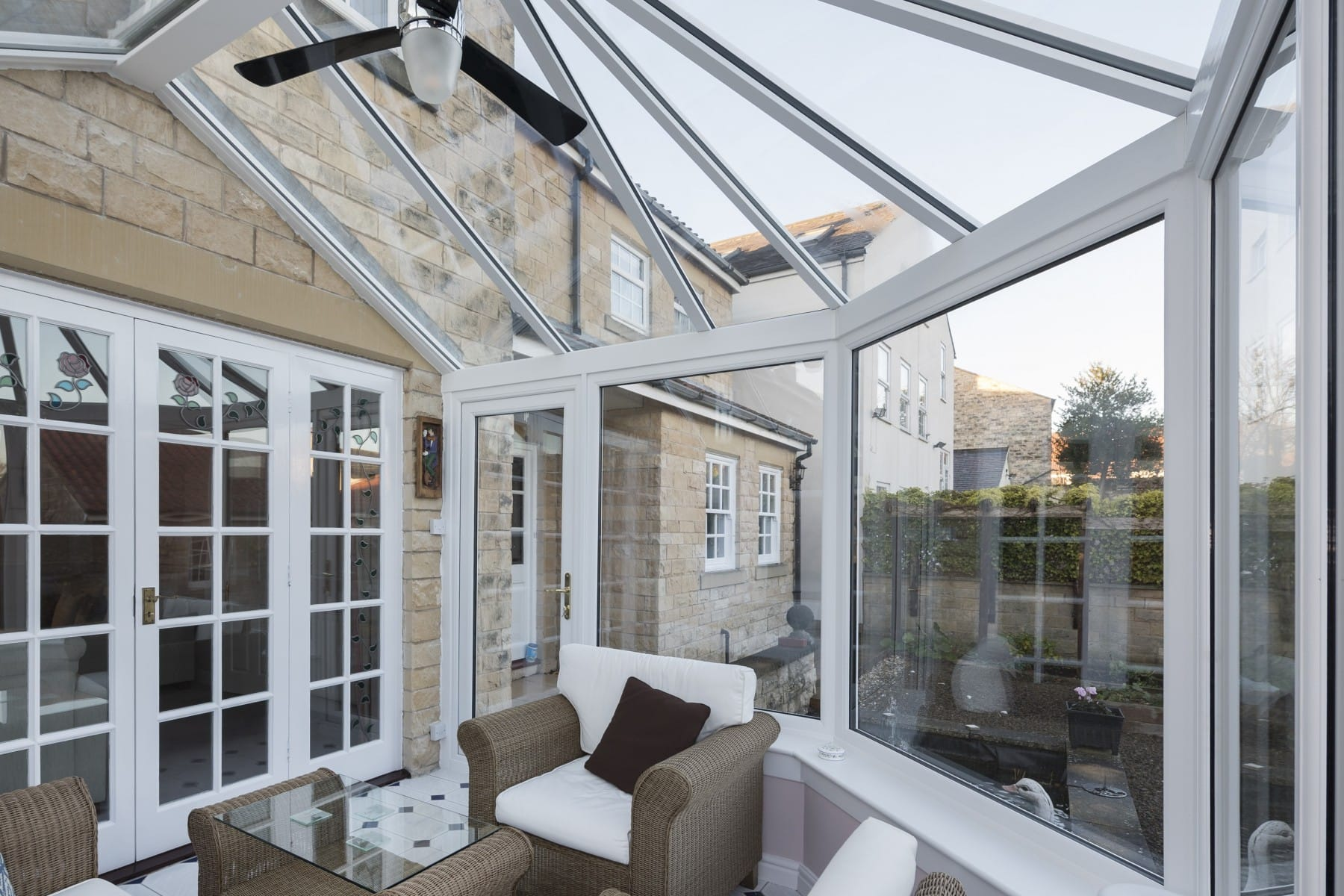 Styles of Glass Conservatory Roofs Yorkshire