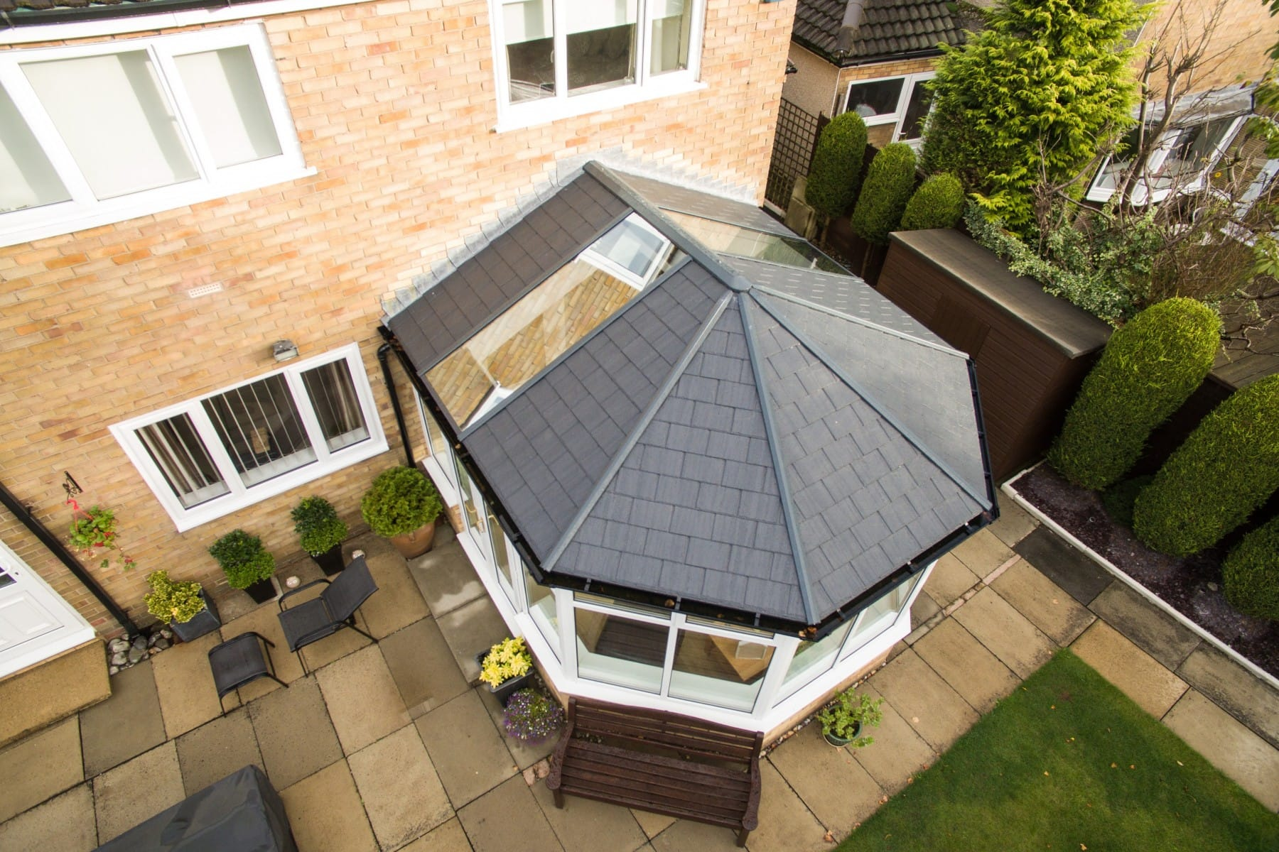 Ultraroof Tiled Solid Roof System