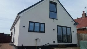 Grey Casement Windows Yorkshire