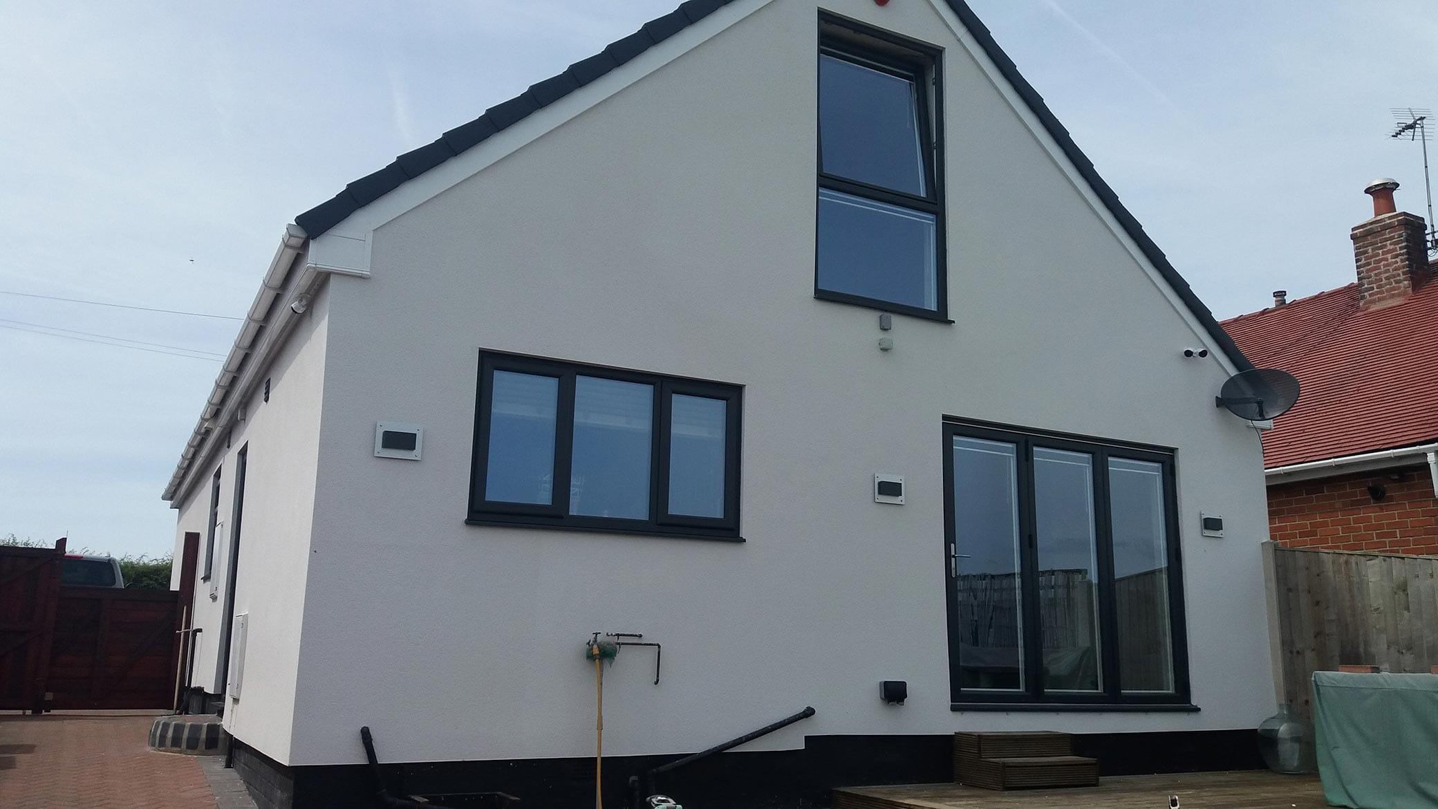 Grey Casement Windows Yorkshire